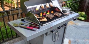 Two Burner Gas Grill