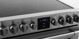 Electric Cooktops with Downdraft Exhaust