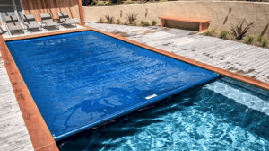 Heating a pool without heater